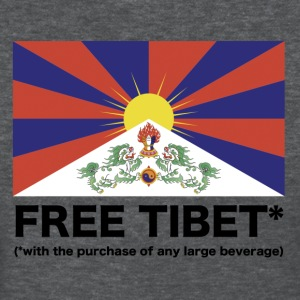 Free Tibet* with purchase of large beverage - Women's T-Shirt
