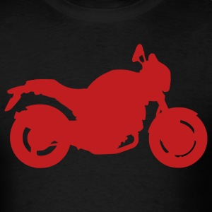 Black Motorbike Monster - Men's T-Shirt