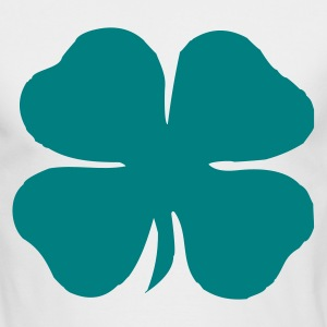 Shamrock Clover St. Patrick - Men's Long Sleeve T-Shirt by Next Level