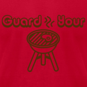 Lemon Guard Your Grill, Grilling Graphic T-Shirts - Men's T-Shirt by American Apparel