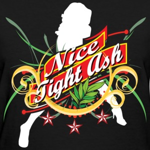 Woman's Nice Tight Ash Shirt - Women's T-Shirt