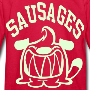 Red Sausages! Kids Shirts - Kids' Long Sleeve T-Shirt