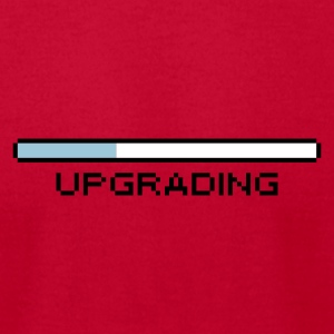 upgrading Men's Tee - Men's T-Shirt by American Apparel