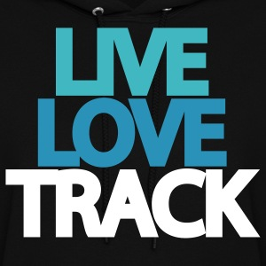 Live Love Track Hooded Sweatshirt - Women's Hoodie