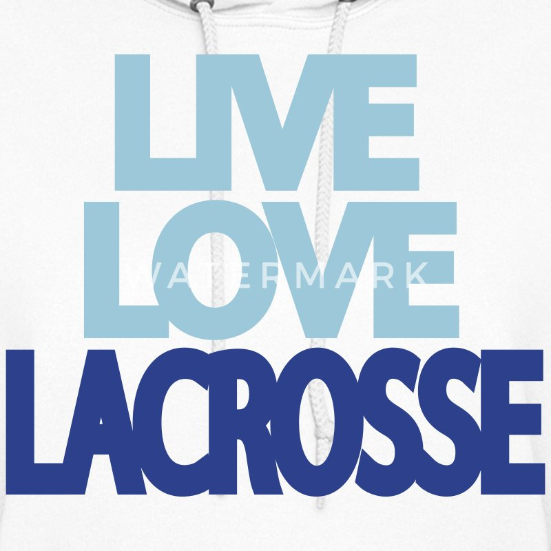 Live Love Lacrosse Hooded Sweatshirt - Women's Hoodie