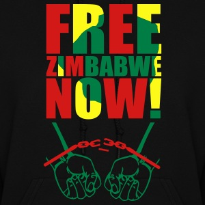 Black Free Zimbabwe Now! Hooded Sweatshirts - Women's Hoodie