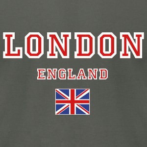 Asphalt London, England T-Shirts - Men's T-Shirt by American Apparel