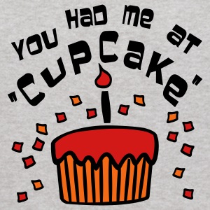 Heather grey You Had Me At 'Cupcake' With Confetti Sweatshirts - Kids' Hoodie