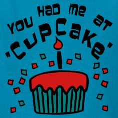 Orange You Had Me At 'Cupcake' With Confetti Kids Shirts