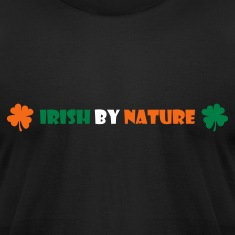 Black Irish by nature T-Shirts