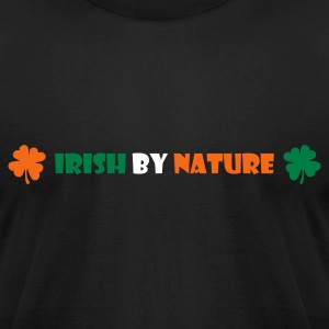 Black Irish by nature T-Shirts - Men's T-Shirt by American Apparel