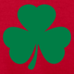 Bright green Shamrock T-Shirts - Men's T-Shirt by American Apparel