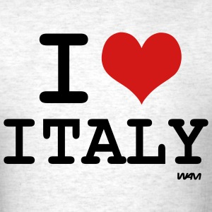 Ash  i love italy T-Shirts - Men's T-Shirt