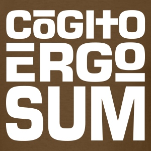 Cogito Ergo Sum Light on Standardweight Shirt - Men's T-Shirt