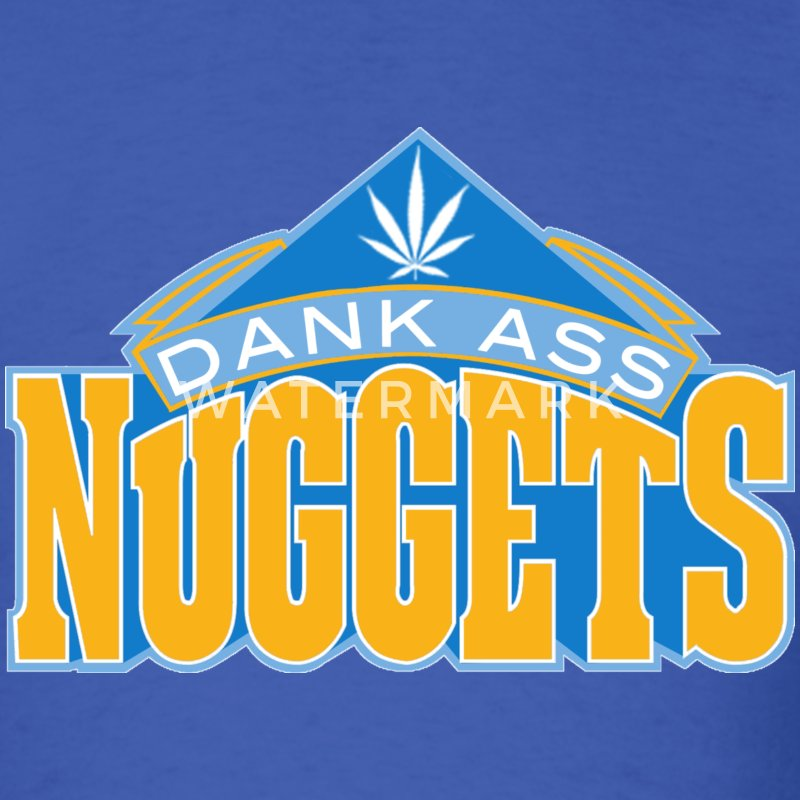 Dank Ass Nuggets - Men's T-Shirt