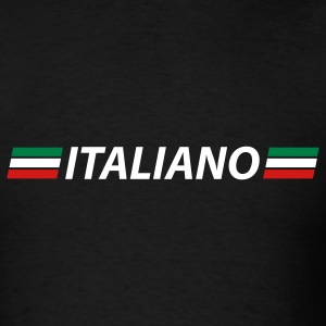 Black italiano T-Shirts - Men's T-Shirt