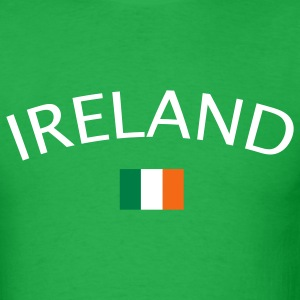 Bright green ireland T-Shirts - Men's T-Shirt