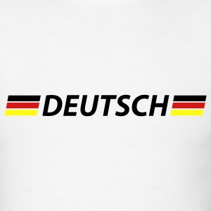 White deutsch T-Shirts - Men's T-Shirt