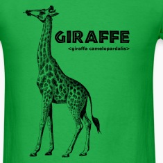 Men's Giraffe T-shirt (standard)