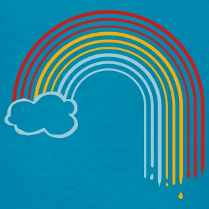 Royal blue rainbow drops cloud Kids Shirts - Kids' T-Shirt
