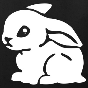 Black White Bunny Bags  - Eco-Friendly Cotton Tote