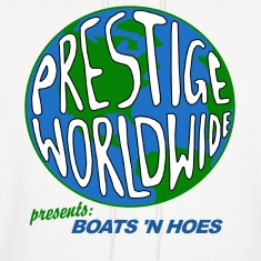 White Step Brothers Boats Hoes  Hoodies