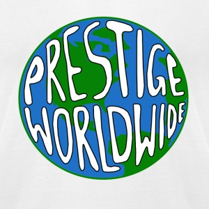 White Step Prestige Worldwide T-Shirts - Men's T-Shirt by American Apparel