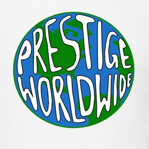 White Prestige Worldwide Step T-Shirts - Men's T-Shirt