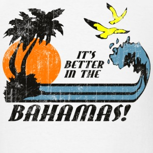 White Bahamas Faded T-Shirts - Men's T-Shirt