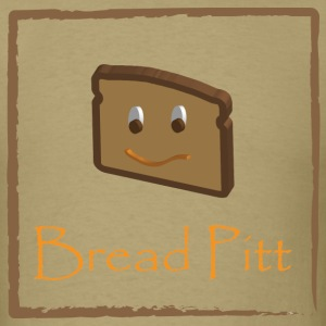 Khaki Bread Pitt T-Shirts - Men's T-Shirt