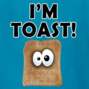 Orange I'M TOAST! Kids Shirts - Kids' T-Shirt