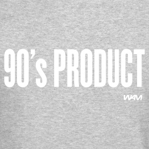 Heather grey 90's product by wam Long sleeve shirts - Crewneck Sweatshirt