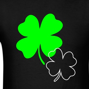 Black shamrock T-Shirts - Men's T-Shirt