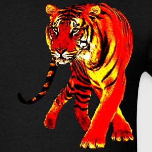 Black Tiger T-Shirts - Men's T-Shirt