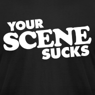 Design ~ Your Scene Sucks logo t-shirt