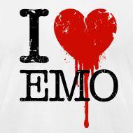 Design ~ I Heart Emo white t-shirt