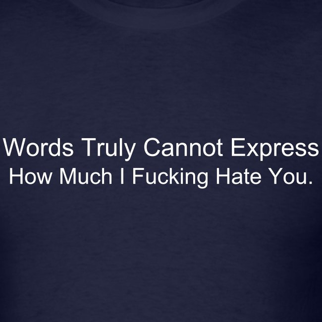 Expressing Hate