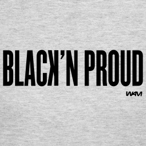 Gray black'n proud by wam Long sleeve shirts - Women's Long Sleeve Jersey T-Shirt