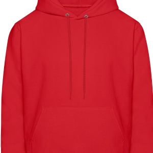 Red Question Mark / ? Long Sleeve Shirts - Men's Hoodie