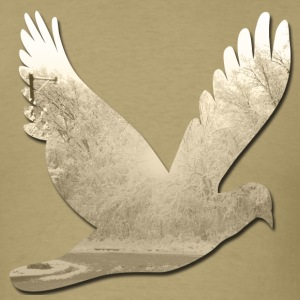 Khaki winter_dove T-Shirts - Men's T-Shirt