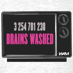 Brains washed - Men's T-Shirt
