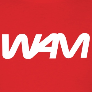 Red wam brand logo T-Shirts - Men's T-Shirt