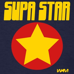 Navy supastar by wam T-Shirts - Men's T-Shirt