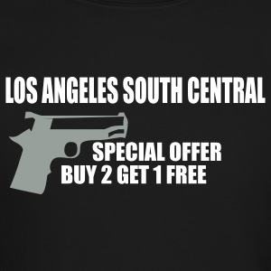 Black LOS ANGELES south central by wam Long sleeve shirts - Crewneck Sweatshirt