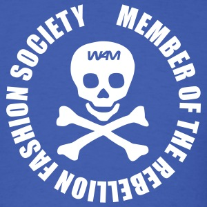 Royal blue rebellion fashion society by wam T-Shirts - Men's T-Shirt