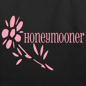Black Honeymooner (wedding) Bags  - Eco-Friendly Cotton Tote