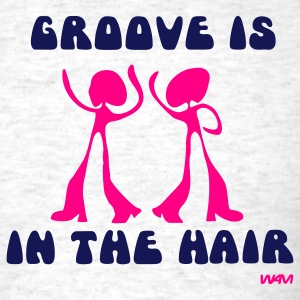 Ash  groove in the Hair by wam T-Shirts - Men's T-Shirt