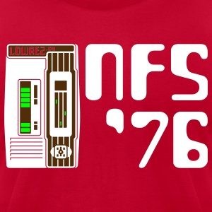 Lime NFS '76 T-Shirts - Men's T-Shirt by American Apparel