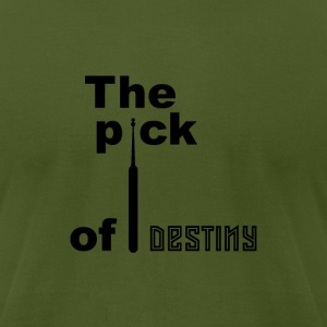 Pick of destiny [black edition] - Men's T-Shirt by American Apparel