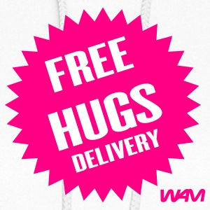 White free hugs delivery by wam Hooded Sweatshirts - Women's Hoodie